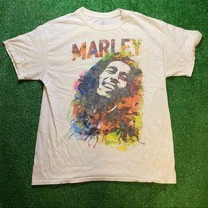 Bob Marley Paint Splatter T-Shirt